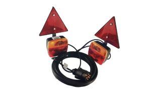 Señales y Placas FP22974 - Kit magnetico de pilotos led para remolque