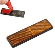 Señales y Placas 04027 - Reflectante rectangular adhesivo blanco 102 x 50 mm