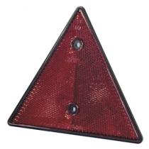 Señales y Placas 04010 - Reflectante redondo 80 mm rojo con tornillo